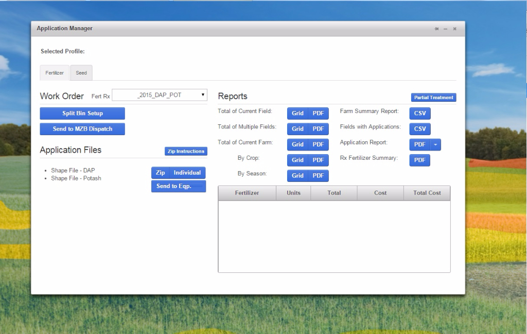 Application Manager 1: Easily download Rx files.